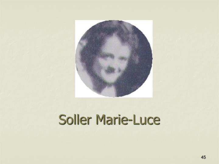 Soller Marie-Luce