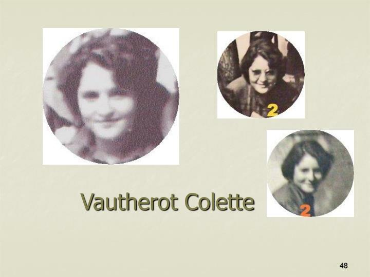 Vautherot Colette