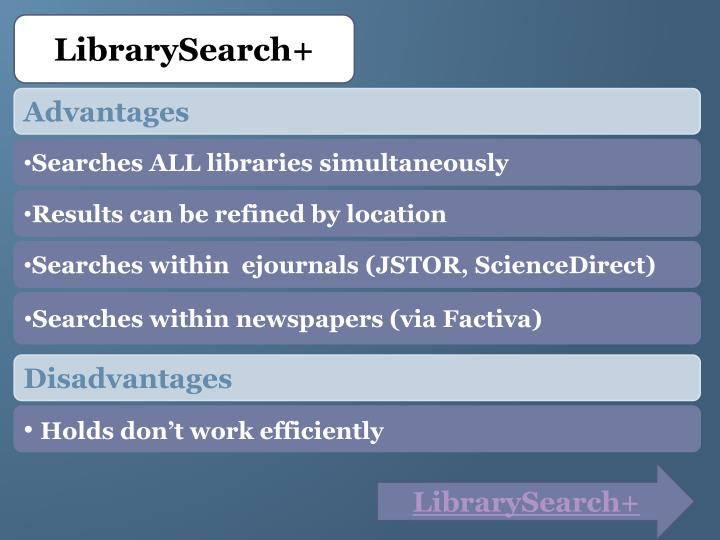 LibrarySearch