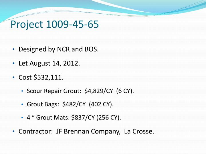 Project 1009-45-65