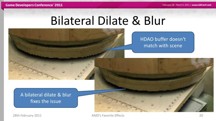 Bilateral Dilate & Blur