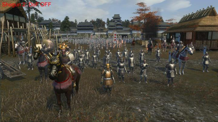 Shogun 2: DoF OFF