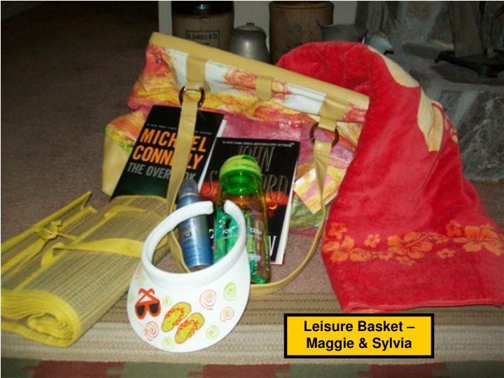 Leisure Basket – Maggie & Sylvia