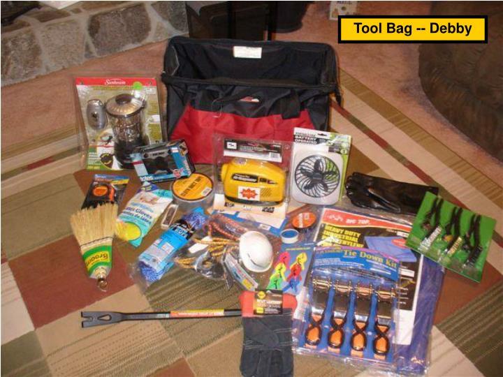 Tool Bag -- Debby