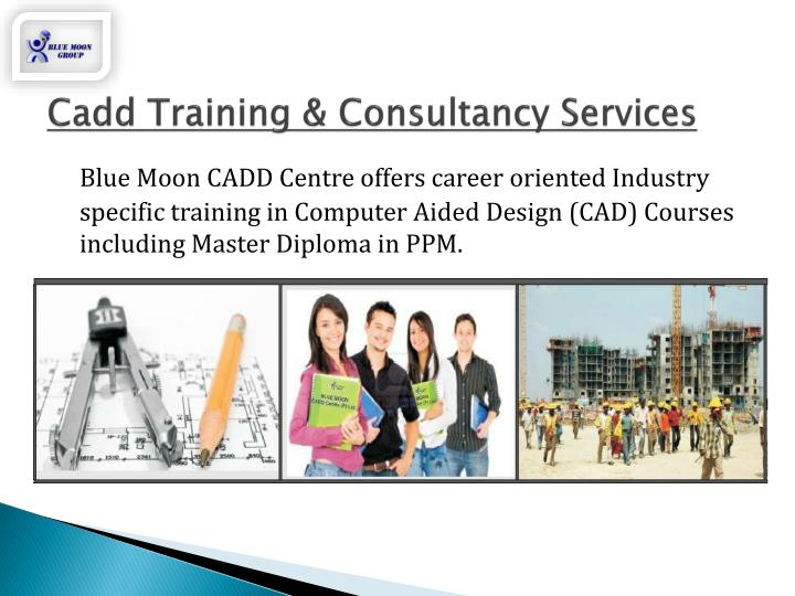 Cadd training consultancy services
