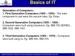 basics of it25