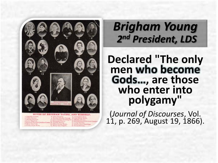 Brigham young 2 nd president lds