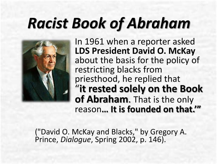Racist Book of Abraham