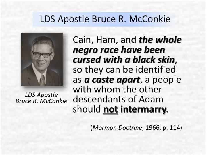 LDS Apostle Bruce R.