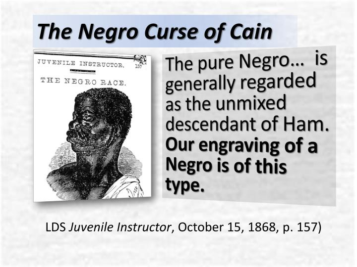 The Negro Curse of Cain