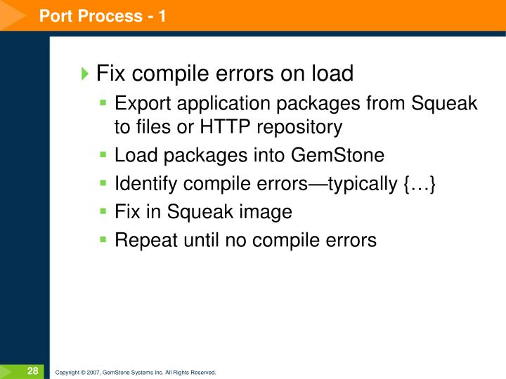 Port Process - 1