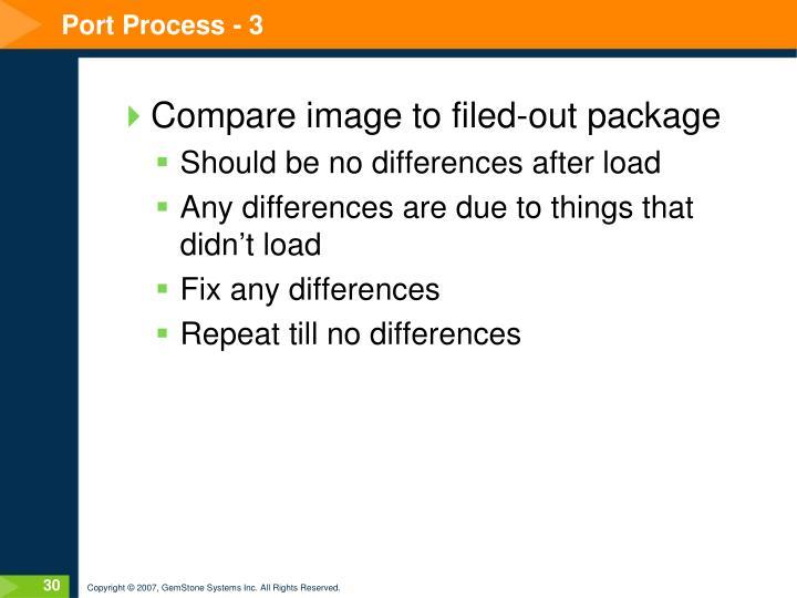 Port Process - 3
