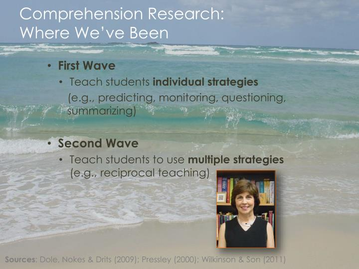 Comprehension Research: