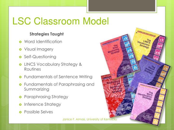 LSC Classroom Model