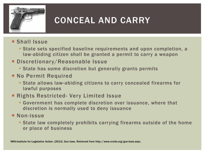 Conceal and carry