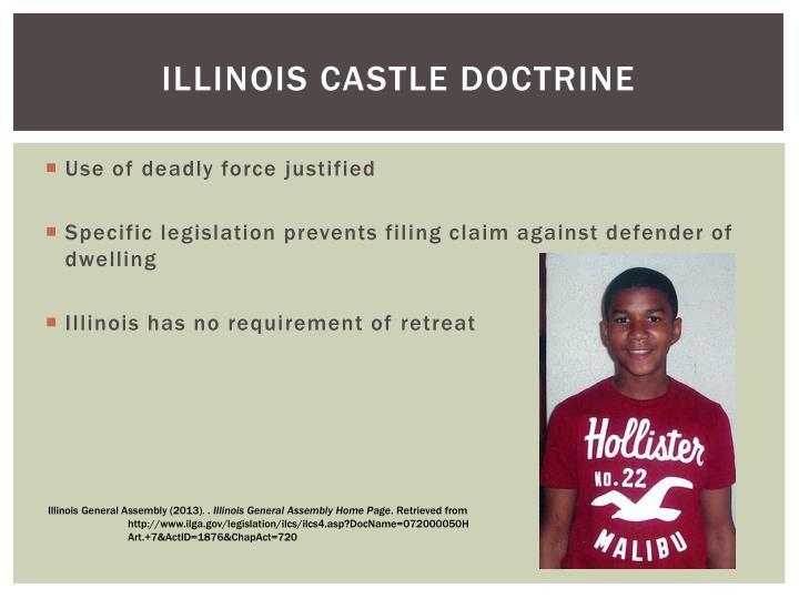 Illinois castle doctrine