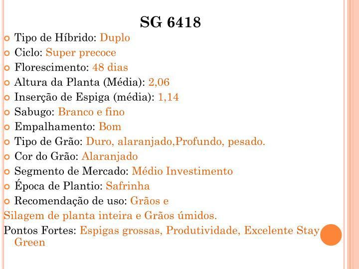 SG 6418