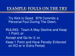 example fouls on the try3