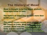 the history of mead1