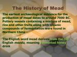 the history of mead2