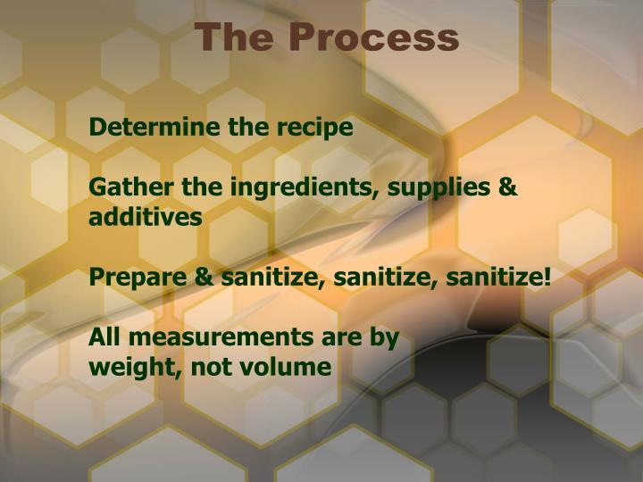 Determine the recipe