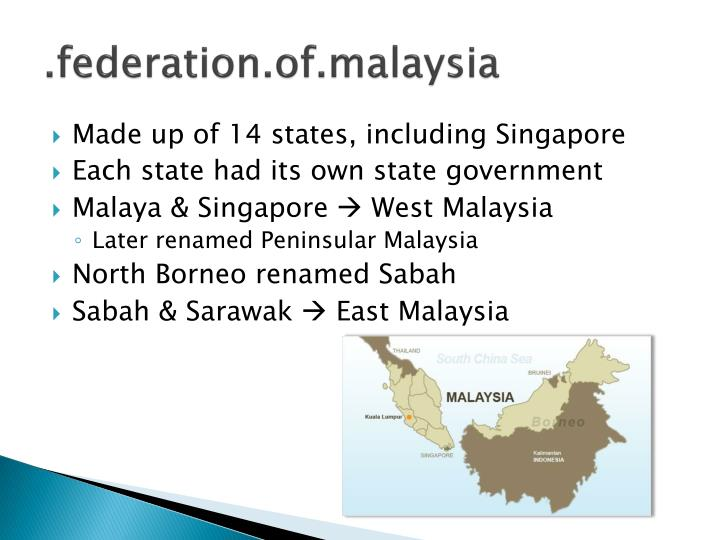 reasons for the separation of singapore from malaysia Federation of malaysia, singapore retained a legal system that is essentially based on the  there is no strict separation of religion and state in singapore as the model of  functions of his office by reason of mental or physical infirmity or that the president has.
