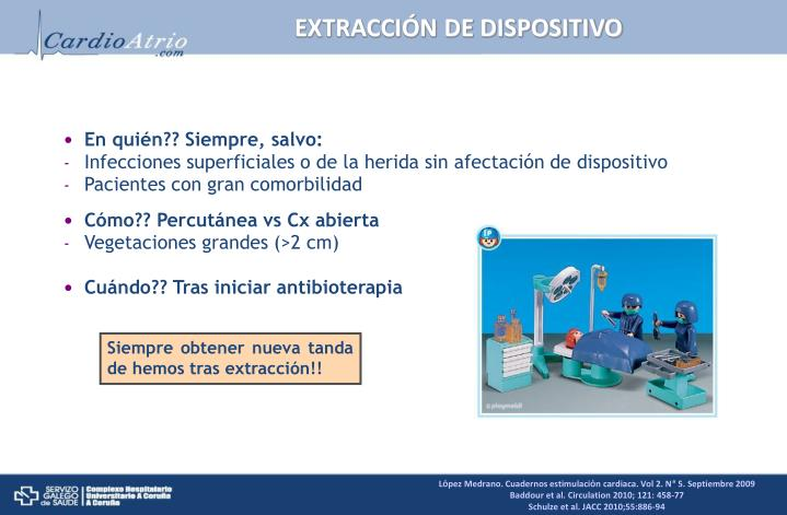 EXTRACCIÓN DE DISPOSITIVO