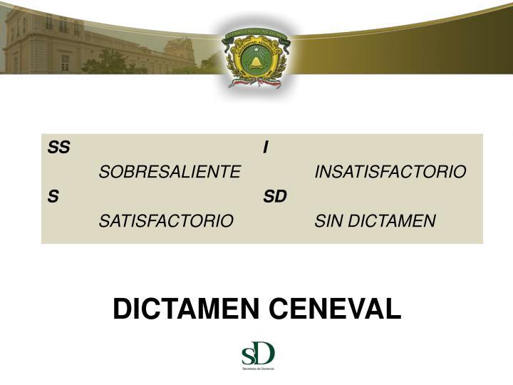 DICTAMEN CENEVAL