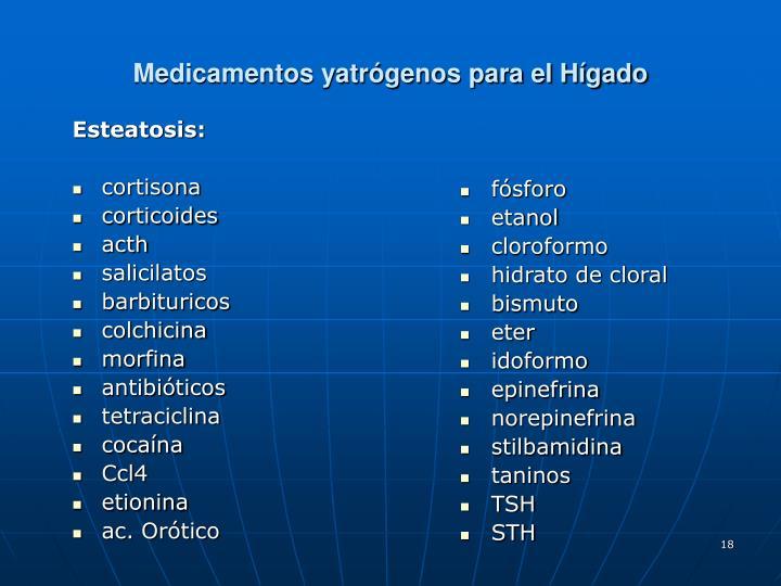Esteatosis: