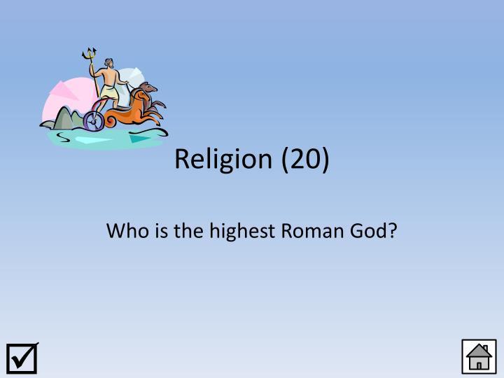 Religion (20)