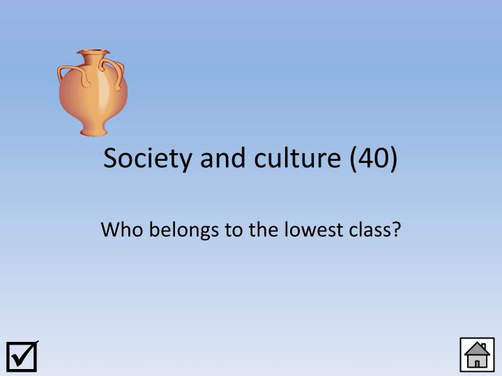 Society and culture (40)