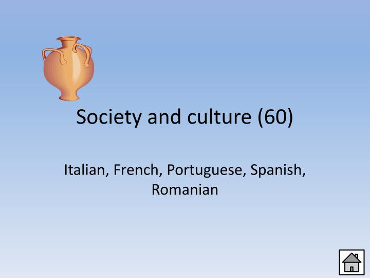 Society and culture (60)