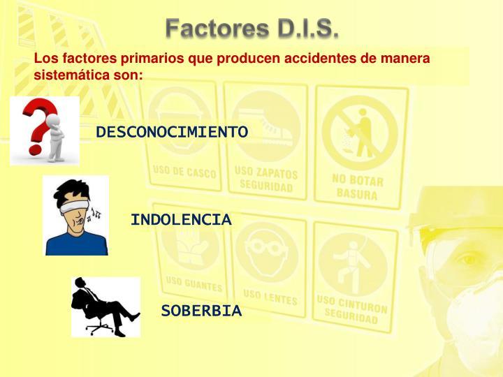 Factores D.I.S.