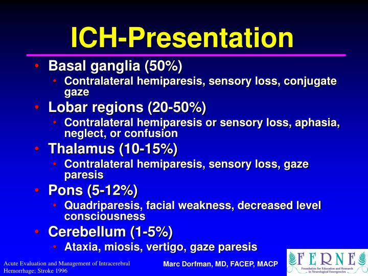 ICH-Presentation