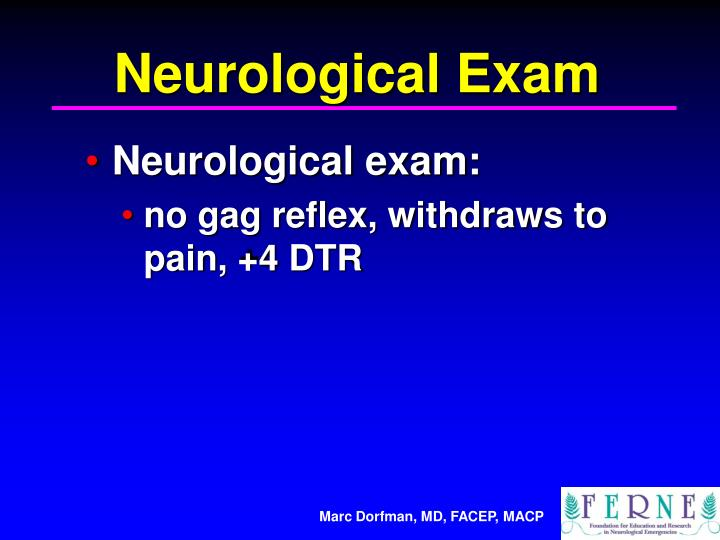 Neurological Exam