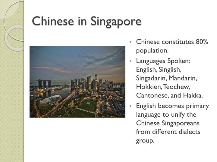 Chinese in Singapore