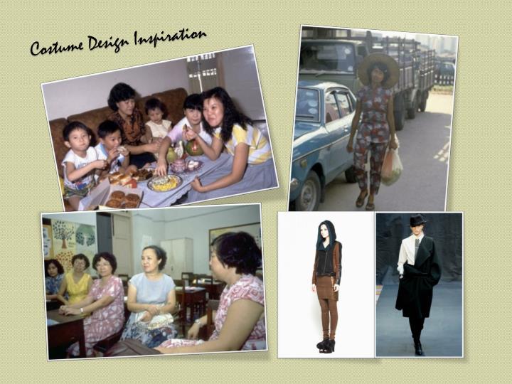 Costume Design Inspiration