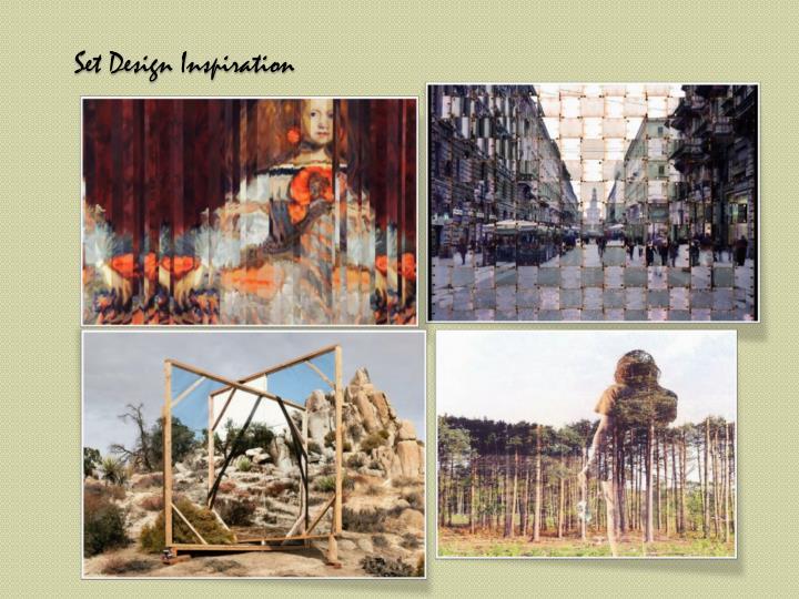 Set Design Inspiration