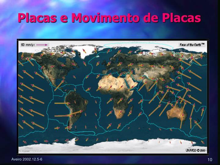 Placas e Movimento de Placas