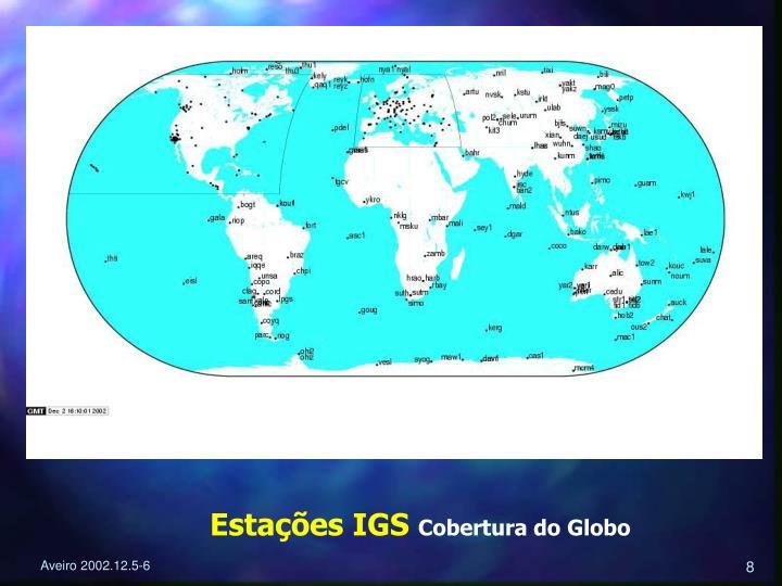Estações IGS