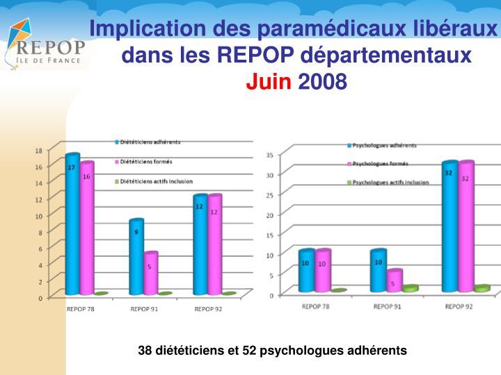 Implication des paramédicaux libéraux