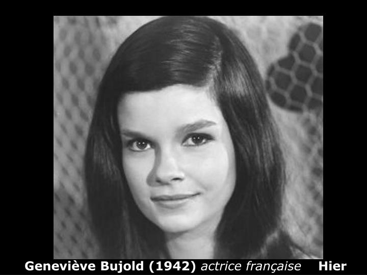 Geneviève Bujold (1942)