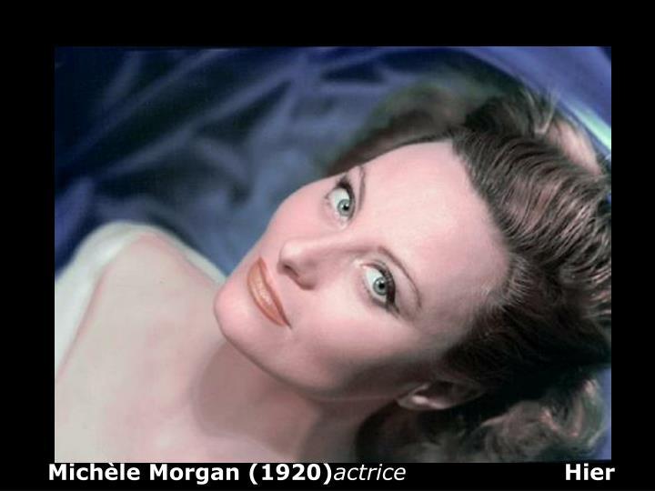 Michèle Morgan (1920)