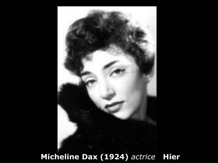 Micheline Dax (1924)