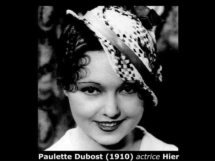 Paulette Dubost (1910)