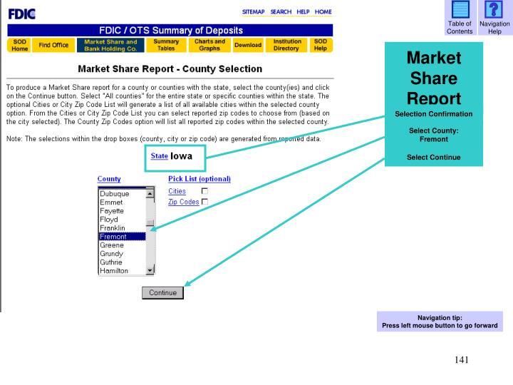 Select County: