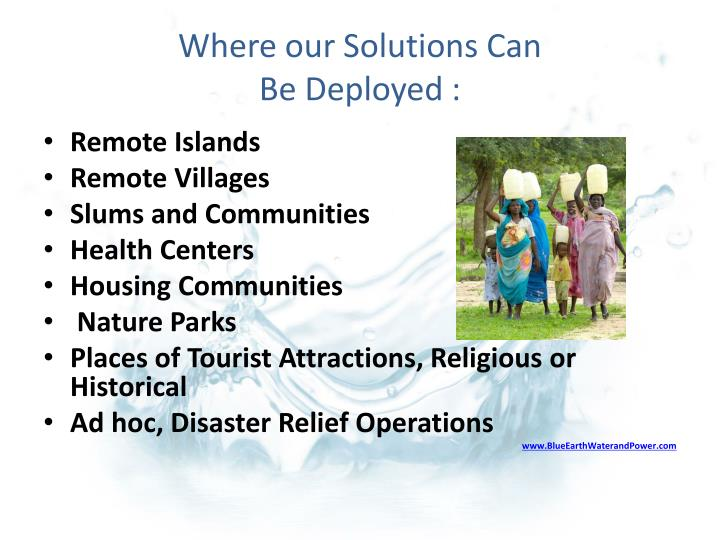 Where our Solutions Can