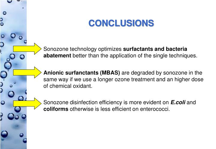 Sonozone technology optimizes