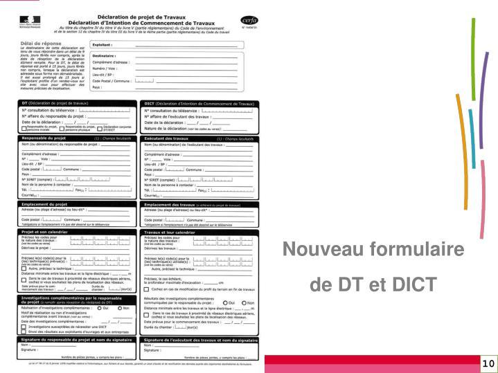 Nouveau formulaire