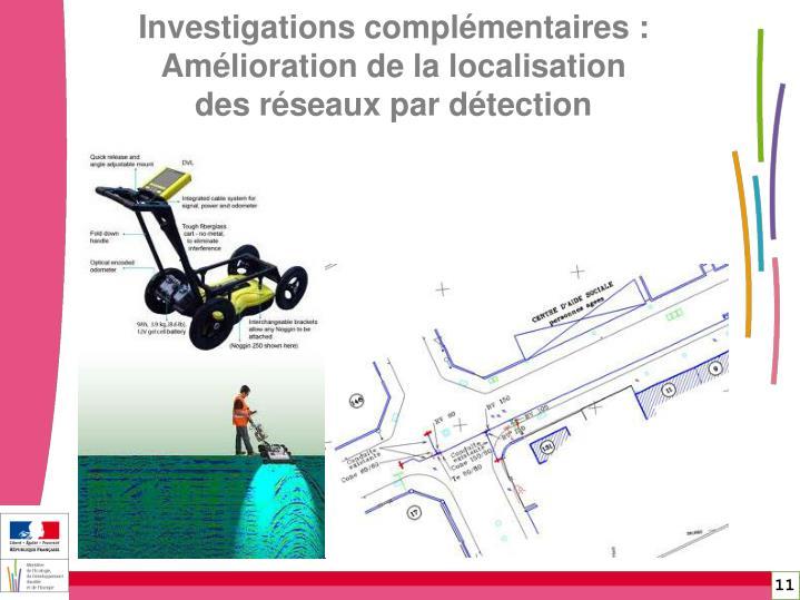 Investigations complémentaires :